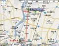 富山ライトレール パークアンドライド路線図