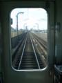 近鉄京都線を みなみに すすむ 急行電車の 先頭車両より|その1