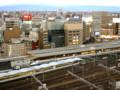 名鉄グランドホテルからの 鉄道写真 (名駅経済新聞 2009-03-13)