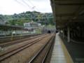 P5040085|JR金谷駅|トンネルを ぬけた すぐの ところに ある