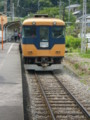 P5040105|金谷駅に 入線して きた 11時 31分 発 千頭いき電車