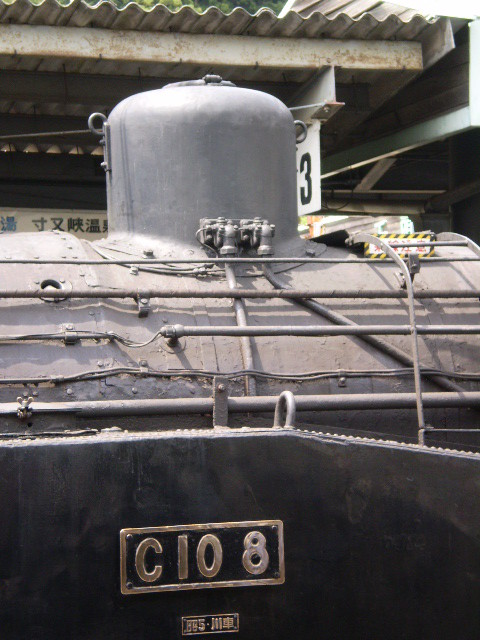 P5040124|千頭駅に 停車中の 蒸気機関車
