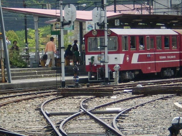 P5040133 千頭駅を 起点に 北行する 「南アルプスあぷとライン」