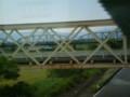 68 東海道本線 橋梁から 道路橋を へだてて 樽見鉄道 橋梁を みる