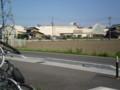 85|モレラ岐阜駅の 自転車おきばから 「モレラ岐阜」を みる