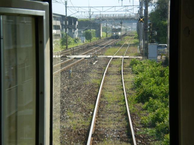98 東大垣駅から すぐ 東海道本線と 並走する/復路