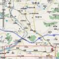 三木鉄道(2008年 3月 31日 廃止) 路線図