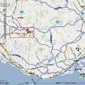 三木鉄道(2008年 3月 31日 廃止) 位置図