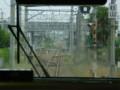 89.新城駅(しんしろえき)が みえて きた