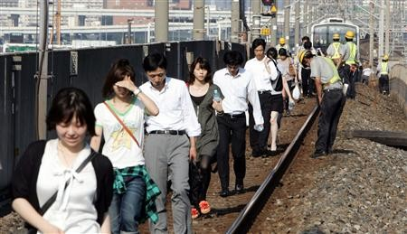 個別「京葉線の 線路上を あるく...