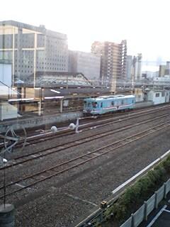 091114 大垣に 停車中の 樽見いき 気動車