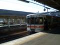 091214-78 亀山に 停車中の 「ワンマン快速名古屋」