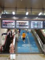 100702-10 浅草駅の 階段と エスカレーター