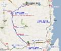 岩泉線 (いわいずみせん) 路線図