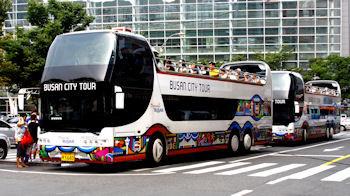 2階 だて オープン バス? 福岡市