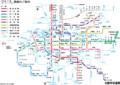 大阪市営地下鉄 路線図