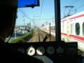 101210 名鉄 名古屋本線 前後駅を すぎて 特急と すれちがい