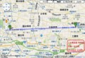 三鷹-立川間 路線図