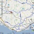 三木鉄道 広域 位置図