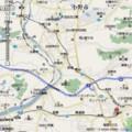 三木鉄道 周辺 位置図