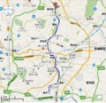 仙台市営地下鉄 南北線 路線図 516 × 498