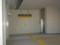 110103-06 新安城 こ線橋の なか (西尾線 エレベーターは みどり)