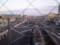 110103-13 新安城 こ線橋から さがり 方面を みる