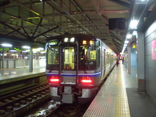 110115-35 福井で 武生 いき ふつう (まえから)