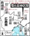 可部線 路線図 (よみうり)
