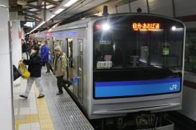 110328 仙石線 仙台駅 (河北新報)