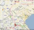 ラオス-中国 高速 鉄道 路線図