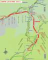 北陸新幹線 上越 周辺 路線図 (あきひこ) 642-800