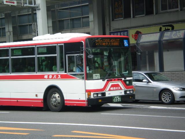 110623 46-01 名鉄岐阜 えきまえを いく バス