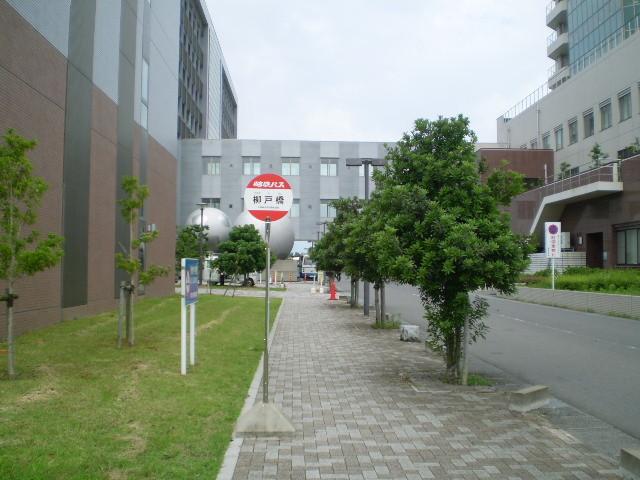 110623 46-32 柳戸橋 バス停