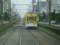 110820 82 13:13 寺地町で きいろい 電車と すれちがい