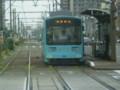 110820 83 13:20 花田口で みずいろの 電車と すれちがい