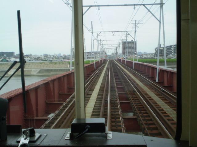 110820 87 13:28 大和川を わたって 大阪へ