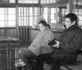 駅 (5) 高倉健さん、倍賞千恵子さんと増毛のえきのまちあいしつ 275-235