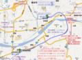 南海 高野線 紀ノ川 (きのかわ) きょうりょう 周辺 地図