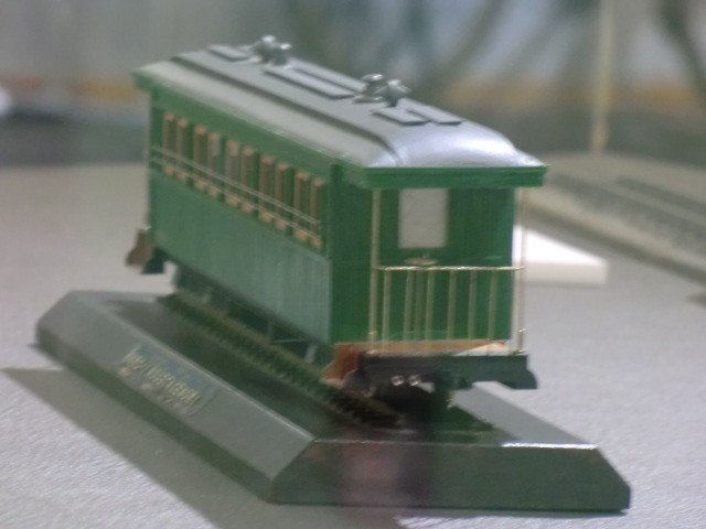 27-111030 軽便 鉄道 西尾鉄道の 客車の モデル