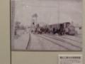 21-111030 「西尾鉄道と岡崎」展 電化 工事中の 岡崎新駅
