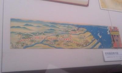 11-111030 「西尾鉄道と岡崎」展 え 路線図 (小)