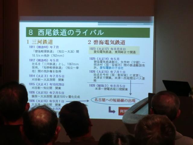 56-111030 「西尾鉄道と岡崎」展 藤井建氏 講演会 1431
