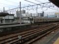 111105 10:15-1 富士 東海道線 ホームに はいって くる 211系