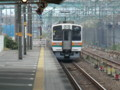 111105 東海道線 14:06 草薙を でて いく 電車