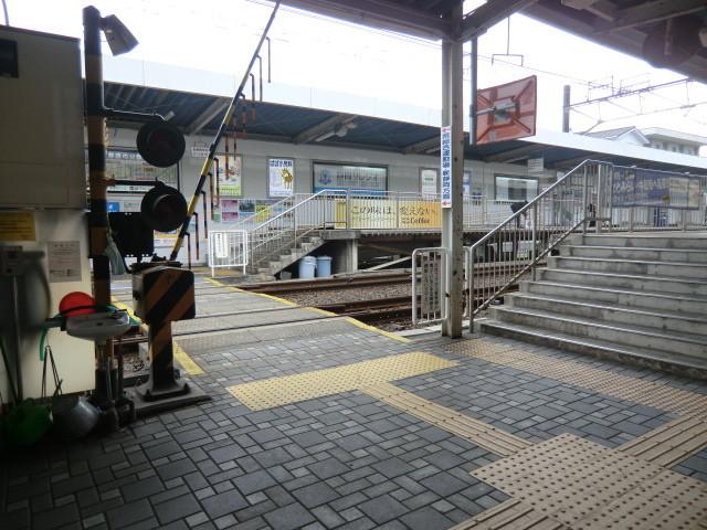 111105 静岡鉄道 14:16‐2 草薙 構内 ふみきり