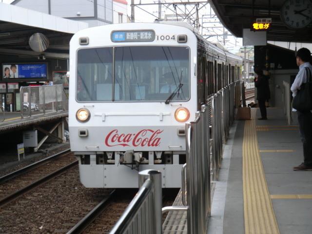 111105 静岡鉄道 14:19 草薙に きた 新静岡 いき