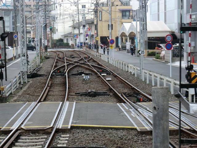 111105 静岡鉄道 14:36‐2 新静岡 分岐器