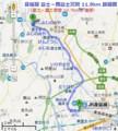 身延線 路線図 (富士-西富士宮間) (あきひこ)