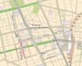 一番町駅 周辺 地図 (杜の都blog)